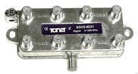 XGVS-8D31 rozbočovač 1/8, 11 dB, DOCSIS 3.1 Compatible