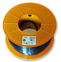 Televes 212501 koaxiální kabel venkovní 6,6mm, opletení Al, 100m