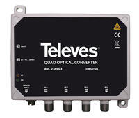 236903 Opt. quad konvertor s DVB-T výstupem