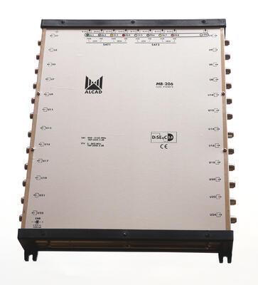 MB-206 Hvězdicový multipřepínač 9x24
