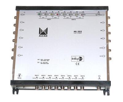 ML-203 Kaskádový multipřepínač 9x12