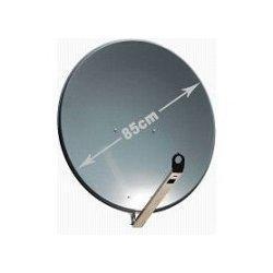 Satelitní anténa GIBERTINI 85 Al serie L tmavě šedá