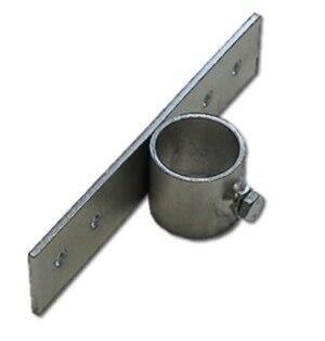 Držák stožáru o průměru 48mm s delším pásem