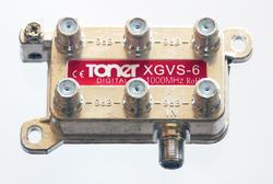Toner XGVS-6 rozbočovač 1/6, 9.2 dB