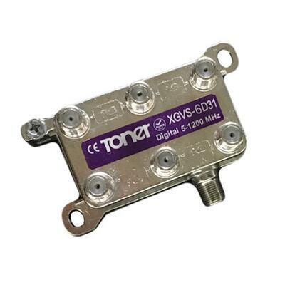 Toner XGVS-6D31 rozbočovač 1/6, 9.2 dB