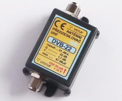 Zesilovač pro DVB-T 21-60.k.22dB - 1