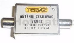 Zesilovač Teroz, FM, +10dB IEC konektory