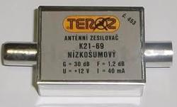 Zesilovač Teroz, 21-69, +30dB IEC konektory
