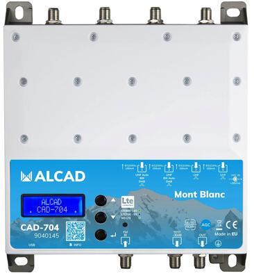 Alcad digitální programovatelný zesilovač Mont Blanc, LTE