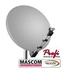 Hliníková parabola Mascom PROFI 85 bílá