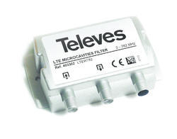 Televes LTE filtr 5-782 MHz, microcavity  - 1