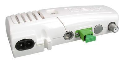 231111 Optický přijímač se zdrojem bytový, 1550nm, výstup 47-1006 MHz