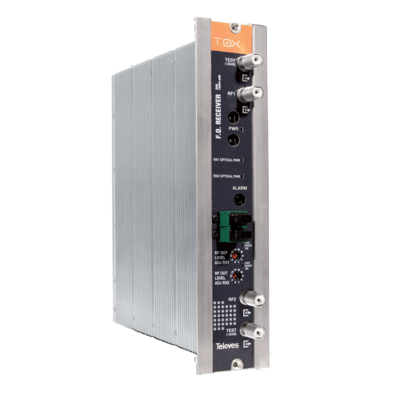 234901 Optický přijímač zpětného kanálu v pásmu 1270-1650 nm, AGC, řada TOX