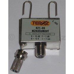 Zesilovač Teroz, 21-69, +5V, anténní krabička