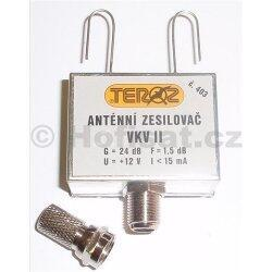 Zesilovač Teroz, FM, +24dB antenní krabička
