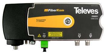 238201 FiberCom optický vysílač, 47-2150 MHz, 1310nm, 3dBm, napájení 11-35 Vdc