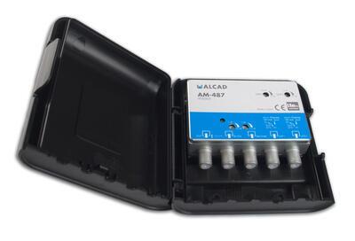 AM-487_ zesilovač 4 vstupy, FM-BIII/ DAB - UHF - UHF, LTE700