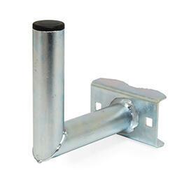 Držák antény 20 cm EKO, (na stožár 25-75mm), trubka 42/2mm, zinek Galva - 1