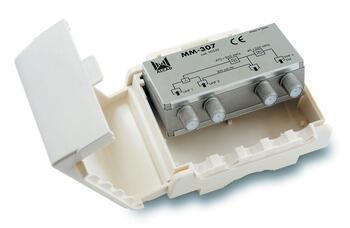 MM-307 sluč. 3 vstupy VHF - UHF - UHF, venkovní použití