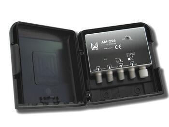 Alcad AM-256_ zesilovač, 2 vstupy FM/ DAB - UHF - 1