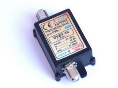 DVB-T 16X zesilovač IVO, 21-60, +16dB F konektory