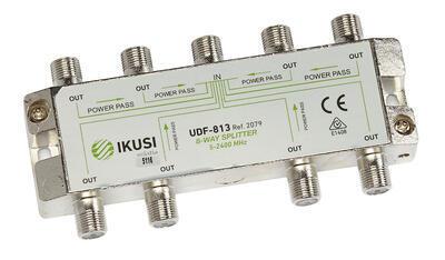 Ikusi - UDF-813_ rozbočovač, 8 výst. 11,9 dB, DC pass