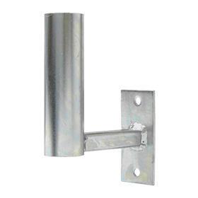 Držák antény Nanostation 10cm s pásem + třmen, trubka 42/2mm, zinek Galva