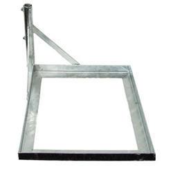 Základna na dlaždici pro anténní stožár 42 mm - zinek Žár