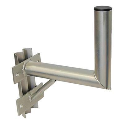 Držák antény 25cm s vinklem a vzpěrou, (na stožár 60-110mm), trubka 42/2mm, Žár