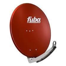 Satelitní anténa FUBA DAA 110 Al cihlová červená