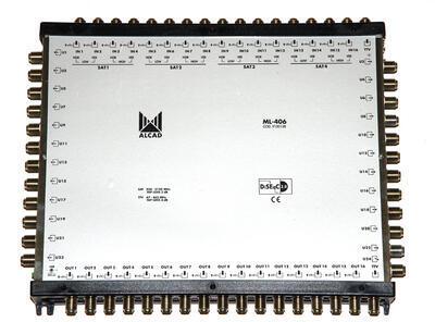ML-406 Kaskádový multipřepínač 17x24