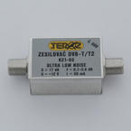 Teroz ULTRA LOW NOISE DVB-T +17 dB/0,7-0,8dB - 1/3