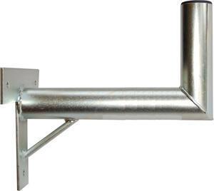 Držák antény 35 s křížem + vzpěra, trubka 60/2mm, zinek Galva