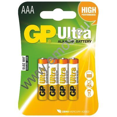 Baterie GP ULTRA LR03 4BL