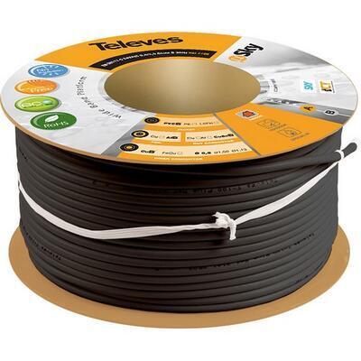 Televes 2155 koaxiální kabel venkovní 6,6mm - 100m