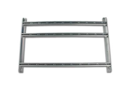SP-244 Hliníkový rám pro 9 mod. serie 912/905 a zdroj , rozteč 47 mm