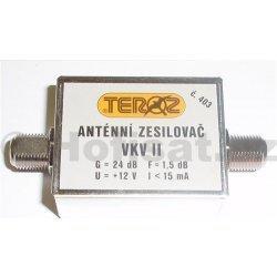Zesilovač Teroz, FM, +24dB F konektory