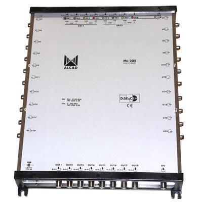 ML-205 Kaskádový multipřepínač 9x20