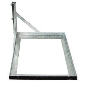 Základna na dlaždici pro anténní stožár 35 mm - zinek Žár