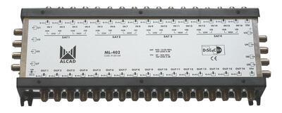 ML-402 Kaskádový multipřepínač 17x8