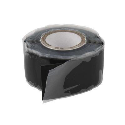 Silikonová páska vulkanizační 25mm / 1m černá