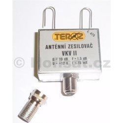 Zesilovač Teroz, FM, +10dB antenní krabička