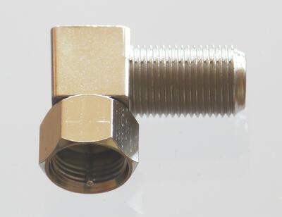 F - konektor úhlový HQ