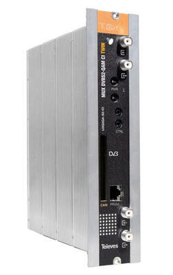 564401 Transmodulátor 3x DVB-S2 / 2x DVB-C, CI, T0X