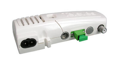 2310 Optický přijímač se zes. 87-2150 MHz, zdroj 230V, pro venkovní použití, IP61, RW