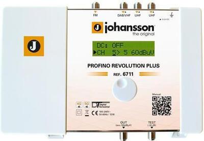 Johansson 6711 zesilovač programovatelný, 15x filtr, 60 dB - 1