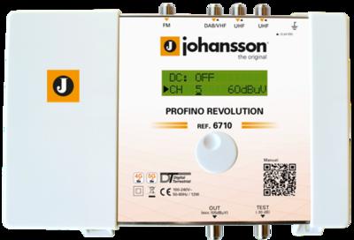 Johansson 6710 zesilovač programovatelný, 20x filtr, 45 dB - 1
