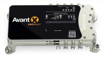 Televes AVANT X PRO digitální programovatelný zesilovač a procesor, auto LTE