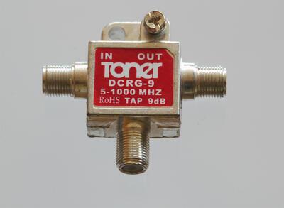 Toner DCRG-9 jednoduchý odbočovač 9 dB