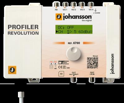 Johansson 6700 zesilovač programovatelný, 50x filtr, 55 dB - 1